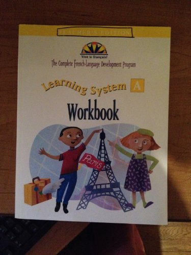 9780658009174: Learning System A: Workbook, Teacher's Edition (English and French Edition)