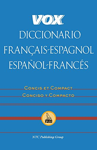 Vox Diccionario Francais-Espagnol/Espanol-Frances by Vox