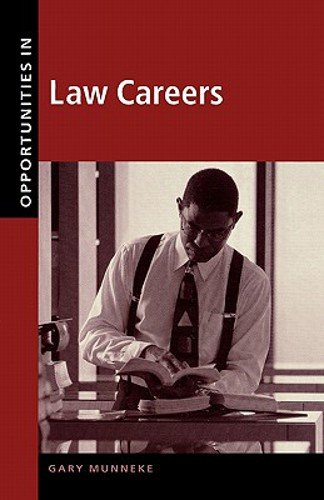 9780658010477: Opportunities in Law Careers