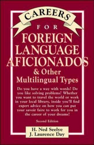 9780658010675: Careers for Foreign Language Aficionados & Other Multilingual Types, Second Edition