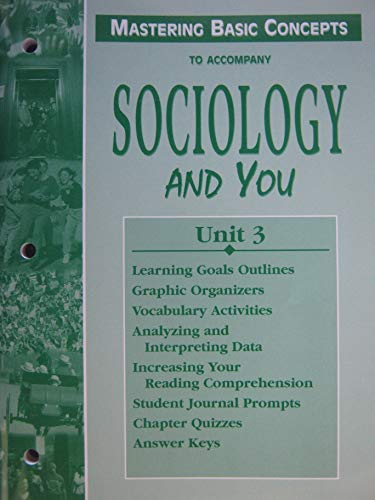 9780658012464: Sociology and You, Unit 3 Mastering Basic Concepts