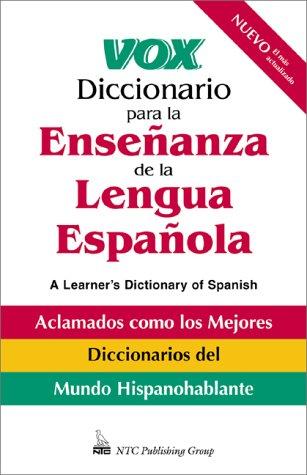 9780658013324: Vox Diccionario Para La Ensen(Tilde)Anza De Le Lengua Espan(Tilde)Ola