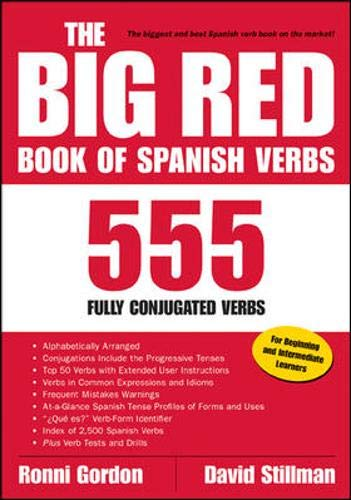 9780658014871: The Big Red Book of Spanish Verbs: 555 Fully Conjugated Verbs