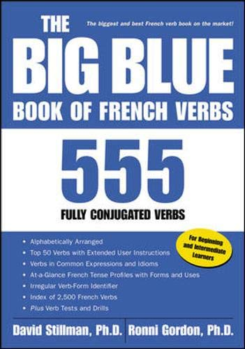 9780658014888: The Big Blue Book of French Verbs : 555 Fully Conjugated Verbs