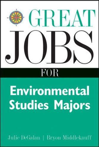 9780658016523: Great Jobs for Environmental Studies Majors