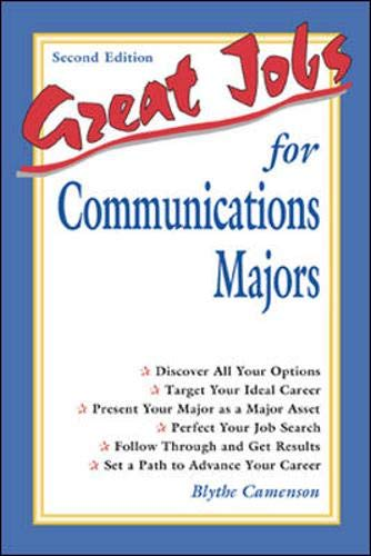 9780658017650: Great Jobs for Communications Majors