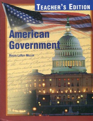 American Government, Teacher's Edition: McGraw-Hill