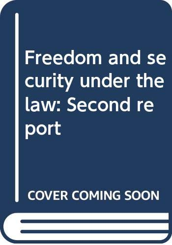 Freedom and security under the law: Second: Commission of Inquiry