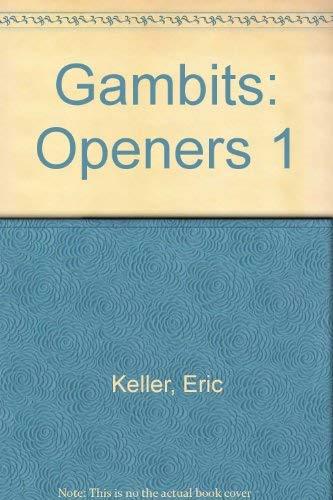 9780660115931: Gambits: Openers 1