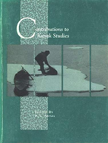 9780660129136: Contributions to Kayak Studies (Canadian Museum of Civilization Mercury Series)