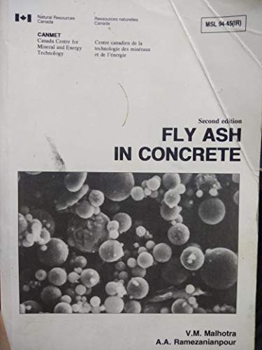 9780660157641: Fly Ash in Concrete
