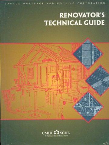 9780660174396: Renovator's Technical Guide