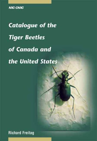 9780660176406: Catalogue of the Tiger Beetles of Canada and the United States