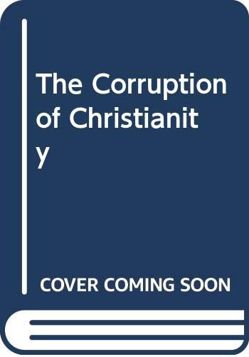 9780660180991: Corruption of Christianity