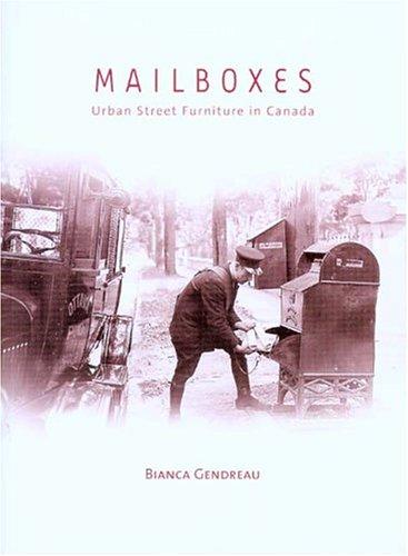 9780660193359: Mailboxes: Urban Street Furniture in Canada (Mercury Series (0316-1854))
