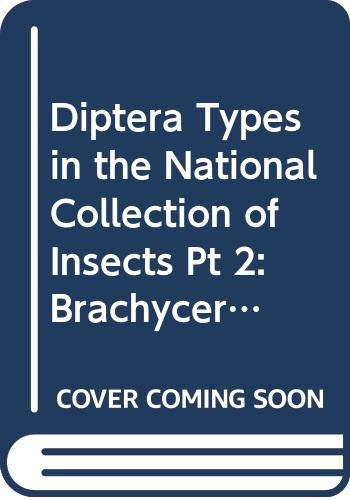 Diptera Types in the National Collection of: Cooper, Bruce E.;