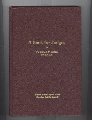 A book for judges: Wilson, J. O