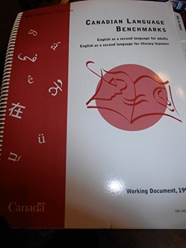 9780662243786: Canadian language benchmarks: English as a second language for adults : English as a second language for literacy learners