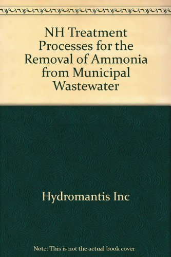 9780662335511: NH3 Treatment Processes for the Removal of Ammonia from Municipal Wastewater