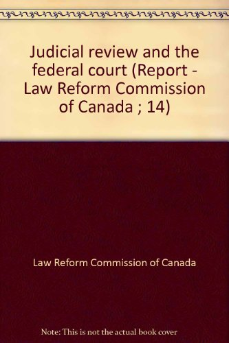 Federal Law Review - AbeBooks