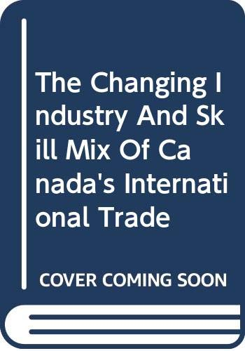 The changing industry and skill mix of: D. Peter Dungan