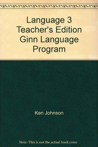 9780663353804: Language 3 Teacher's Edition Ginn Language Program