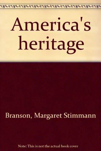 9780663379880: America's heritage