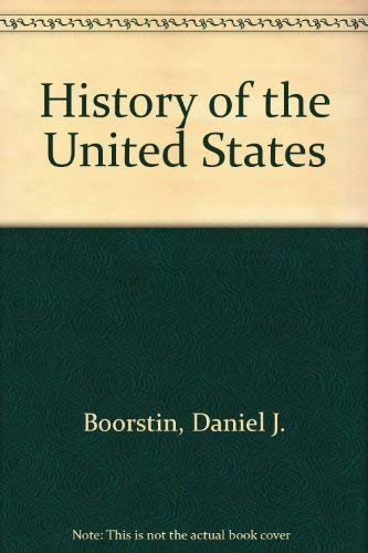 9780663417339: History of the United States