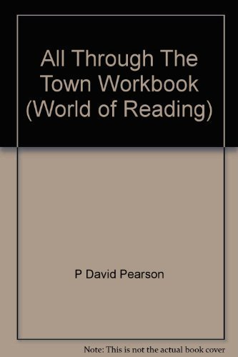 9780663466498: All Through The Town Workbook (World of Reading)