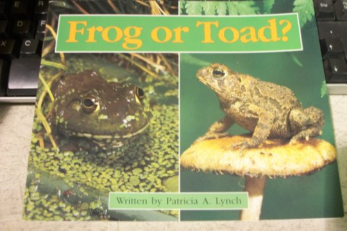9780663594108: Frog or toad?