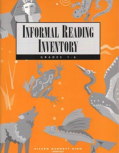 9780663595839: Informal Reading Inventory: Grades 1-6 (Silver Burdett Ginn Literature Works)