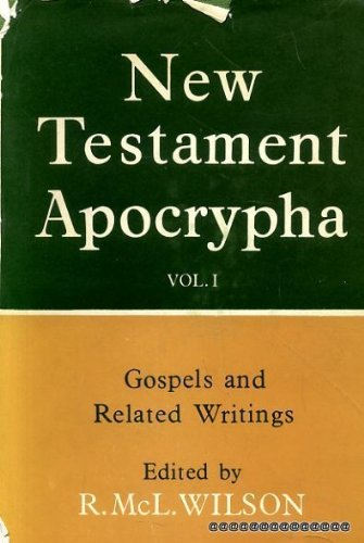 9780664203856: New Testament Apocrypha vol 1: Gospels and Related Writings