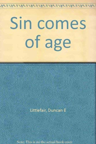 Sin comes of age: Littlefair, Duncan Elliot