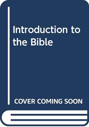 9780664208851: Introduction to the Bible
