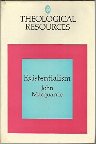 9780664209162: Existentialism (Theological resources)