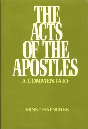 9780664209193: Acts of the Apostles: A Commentary