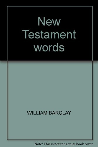 9780664209940: New Testament words