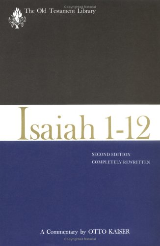 9780664218270: Isaiah 1-12, Second Edition (1983): A Commentary (Old Testament Library)