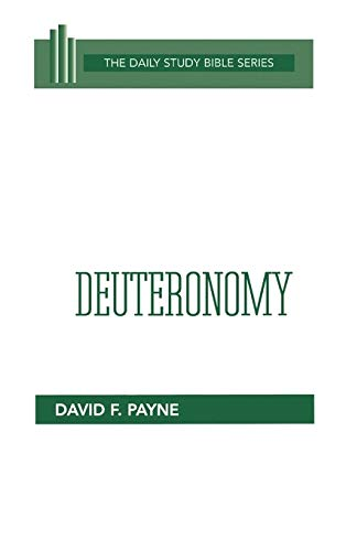 9780664218324: Deuteronomy (Daily Study Bible (Westminster Hardcover))
