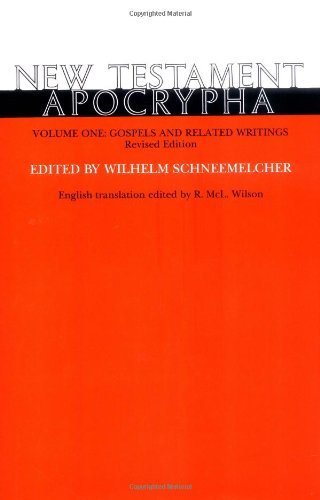9780664218782: New Testament Apocrypha, Vol. 1: Gospels and Related Writings
