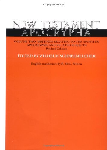 9780664218799: New Testament Apocrypha: Writings Relating to the Apostles Apocalypses and Related Subjects: 2