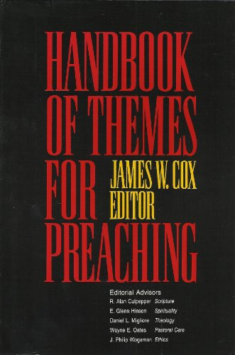 9780664219284: Handbook of Themes for Preaching