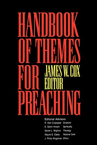 9780664221652: Handbook of Themes for Preaching