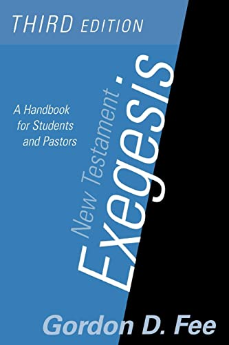 9780664223168: New Testament Exegesis: A Handbook for Students and Pastors(3rd Edition)