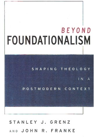 9780664223250: Beyond Foundationalism: Shaping Theology in a Postmodern Context