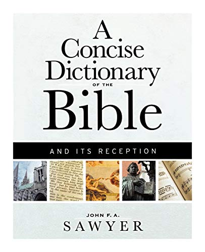 9780664223380: A Concise Dictionary of the Bible and Its Reception