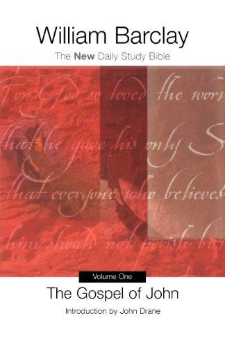 9780664224899: The Gospel of John: The New Daily Study Bible (Volume 1)