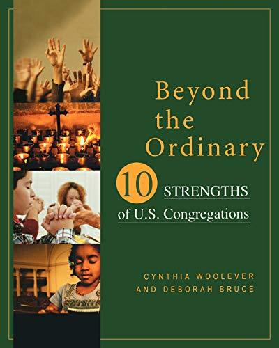 9780664226930: Beyond the Ordinary: Ten Strengths of U.S. Congregations
