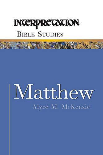 9780664226978: Matthew (Interpretation Bible Studies)