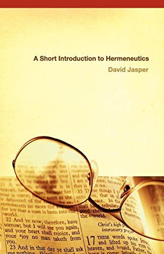 9780664227517: A Short Introduction to Hermeneutics